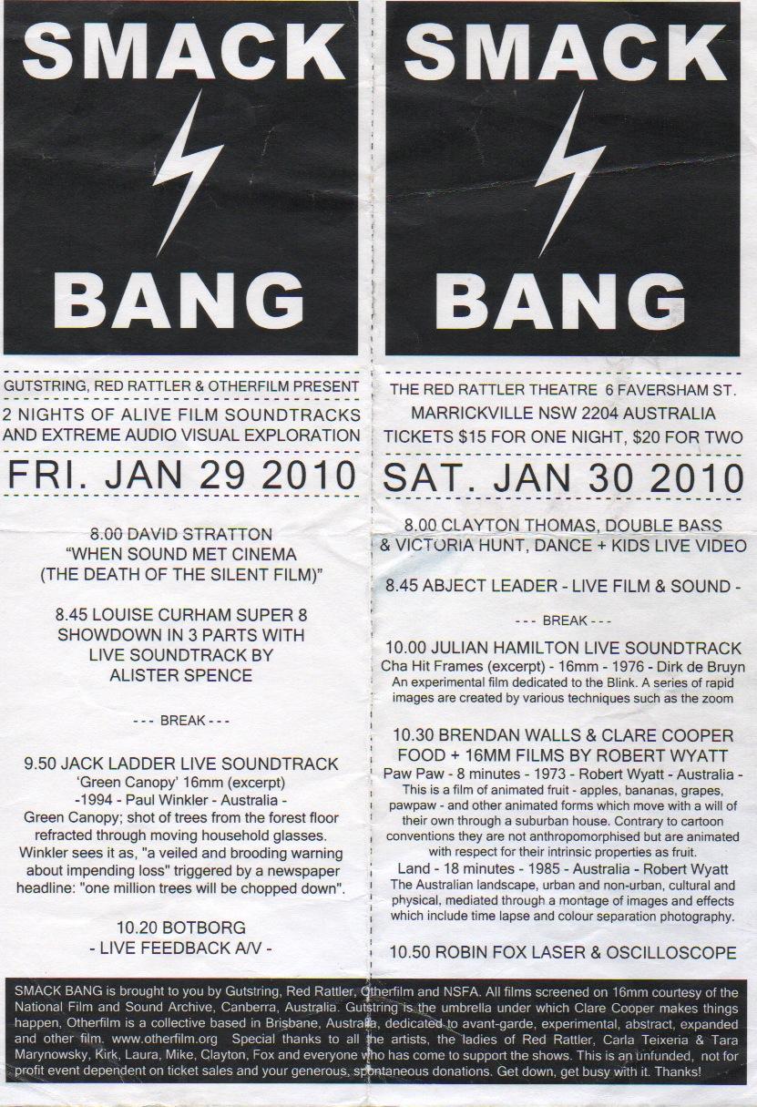 2010 Smack Bang 00